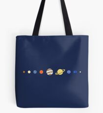Just Planets Tote Bag