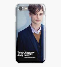 Matthew Grey Gubler Quote iPhone Case/Skin