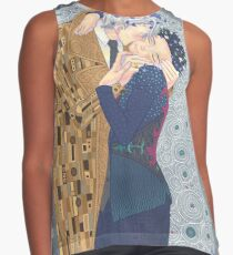 Kiss on Ice Contrast Tank