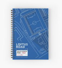 QPR - Loftus Road, W12 London  Spiral Notebook