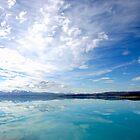 Lake Pukaki New Zealand by John Wallace