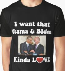 Obama and Biden BFFS Graphic T-Shirt