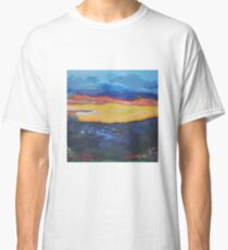 Scottish Sunset on the Campsie Hills Classic T-Shirt