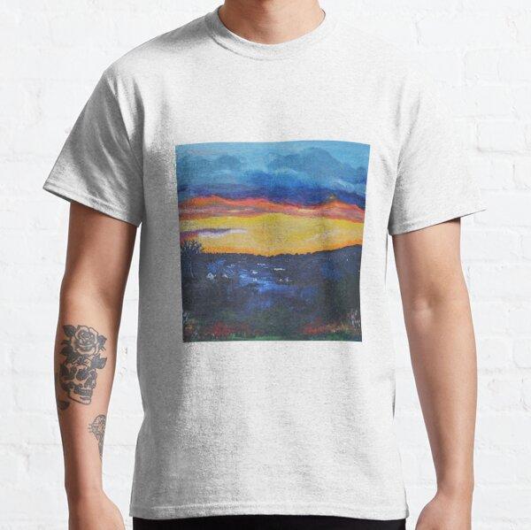 Scottish Sunset on the Campsie Hills Classic T-Shirt