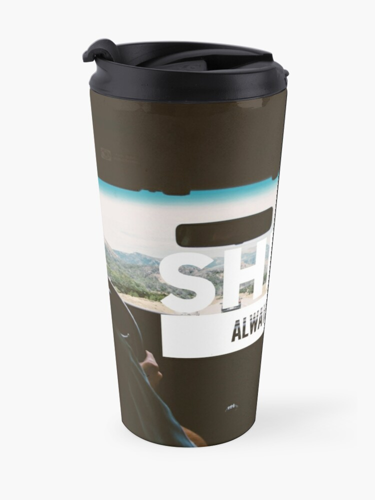 "Alternate view of ""She is Always Right"" - pg. 90 Travel Mug"