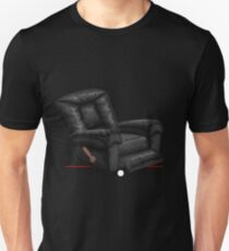 Glitch furniture armchair black leather lazy armchair T-Shirt