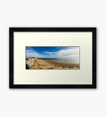 Walton On The Naze Framed Print