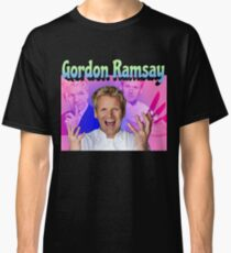 Gordon Ramsay 90s retro Classic T-Shirt