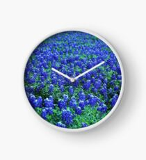 Field of Blue Clock