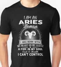 I Am An Aries Woman Unisex T-Shirt