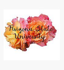 Arizona State University ASU Roses Photographic Print