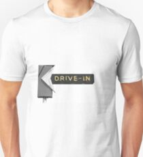 Drive In Theater Americana Unisex T-Shirt