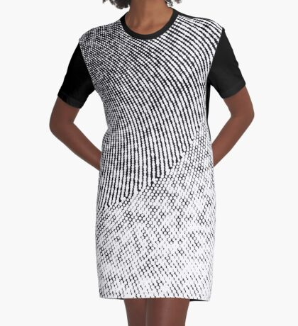 Spiral using Rotation in Processing Graphic T-Shirt Dress