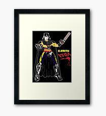 Darth Vega Framed Print