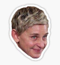 Ellen Crying Meme  Sticker