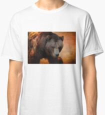 Grizzly Bear Painted Classic T-Shirt