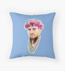 R.J. MacFlowerCrown Throw Pillow