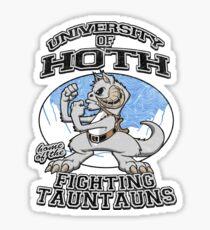 Fighting Tauntauns Sticker