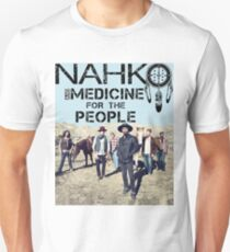 NAHKO AND MEDICINE FOR THE PEOPLE Slim Fit T-Shirt