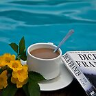 Costa Rica. Coffee at the pool. by vadim19