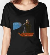 Vibe - CW Flash Version Women's Relaxed Fit T-Shirt