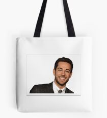 Zachary Levi large Tote Bag