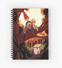 Over The Garden Wall Spiral Notebook