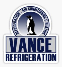 Vance Refrigeration Sticker