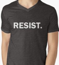 Resist Authoritarianism Trump Resistance Men's V-Neck T-Shirt
