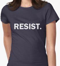 Résister à l'autoritarisme Résistance aux atouts T-shirt col V femme