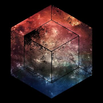 Black Space Cube by polypeptide147