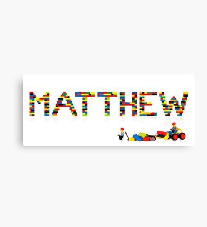 Matthew Canvas Print