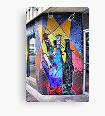 Finger Puppetry Canvas Print