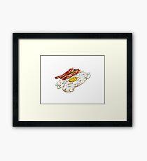 Eggs n Bacon Framed Print