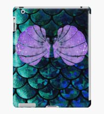 Mermaid Scales & Shell Bra iPad Case/Skin