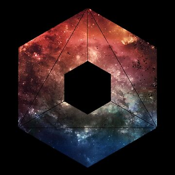 Black Space Hexagon by polypeptide147