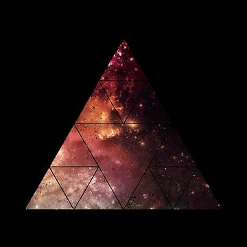 Black Space Triangle 2 by polypeptide147