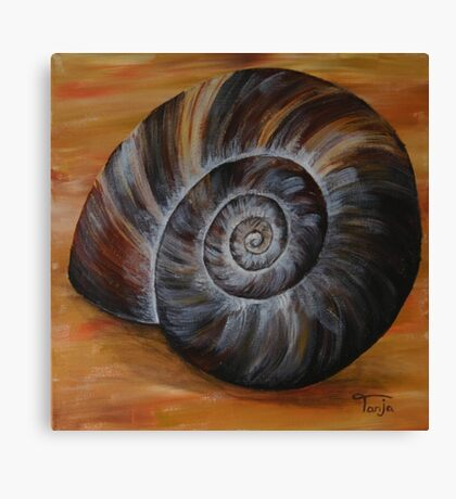 Shell #2 Canvas Print