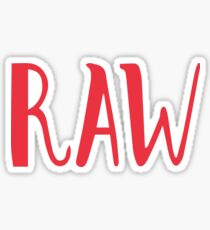 Raw Snapchat Sticker Sticker