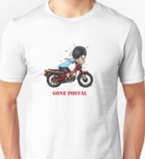 GONE POSTAL POSTIE BIKE MOTORCYCLE Unisex T-Shirt