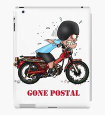 GONE POSTAL POSTIE BIKE MOTORCYCLE iPad Case/Skin