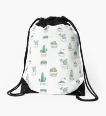 Cactus Drawstring Bag