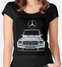 Mercedes G350D Women's Fitted Scoop T-Shirt