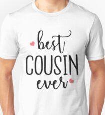 Best Cousin Ever - Cute Gift for Cousins Unisex T-Shirt
