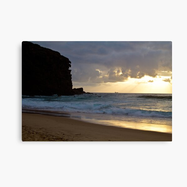Redhead beach, Lake Macquarie at sunrise Canvas Print
