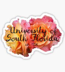 University of South Florida Rose Sticker