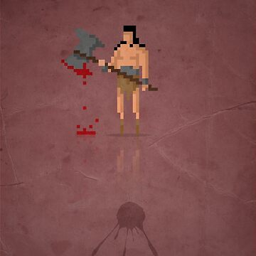8-bit Marvelous Conan by capdeville13