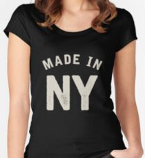 Made in NY Women's Fitted Scoop T-Shirt