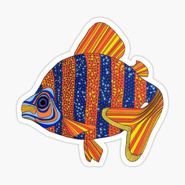 Fishy fishy fishy fish Sticker