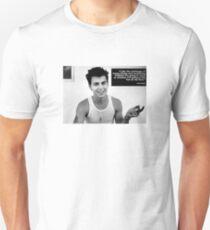Johnny Depp B&W Unisex T-Shirt